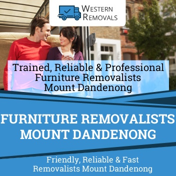 Furniture Removalists Mount Dandenong