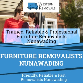 Furniture Removalists Nunawading
