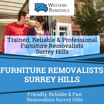 Furniture Removalists Surrey Hills