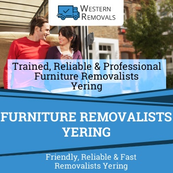 Furniture Removalists Yering