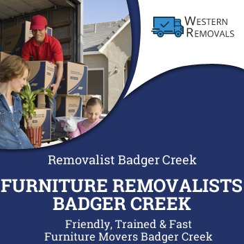 Furniture Removalists Badger Creek