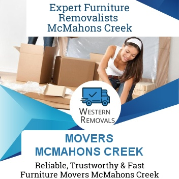 Movers McMahons Creek