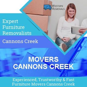 Movers Cannons Creek