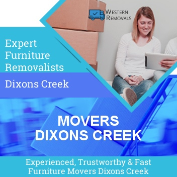 Movers Dixons Creek